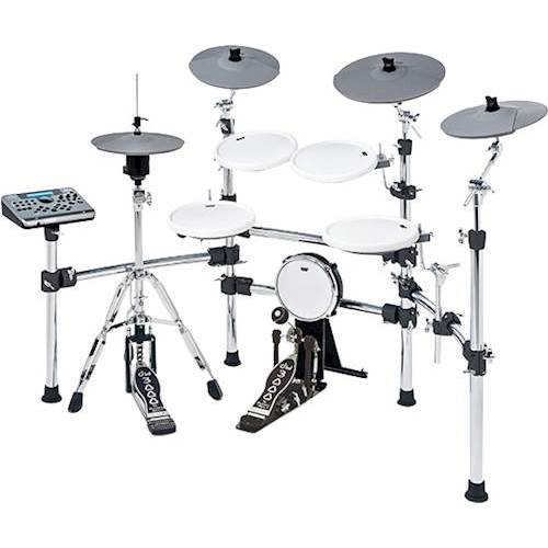 KAT Percussion KT4 High Performance Digital Drum Set Gray KT4 US     KAT Percussion   KT4 High Performance Digital Drum Set   Front Standard