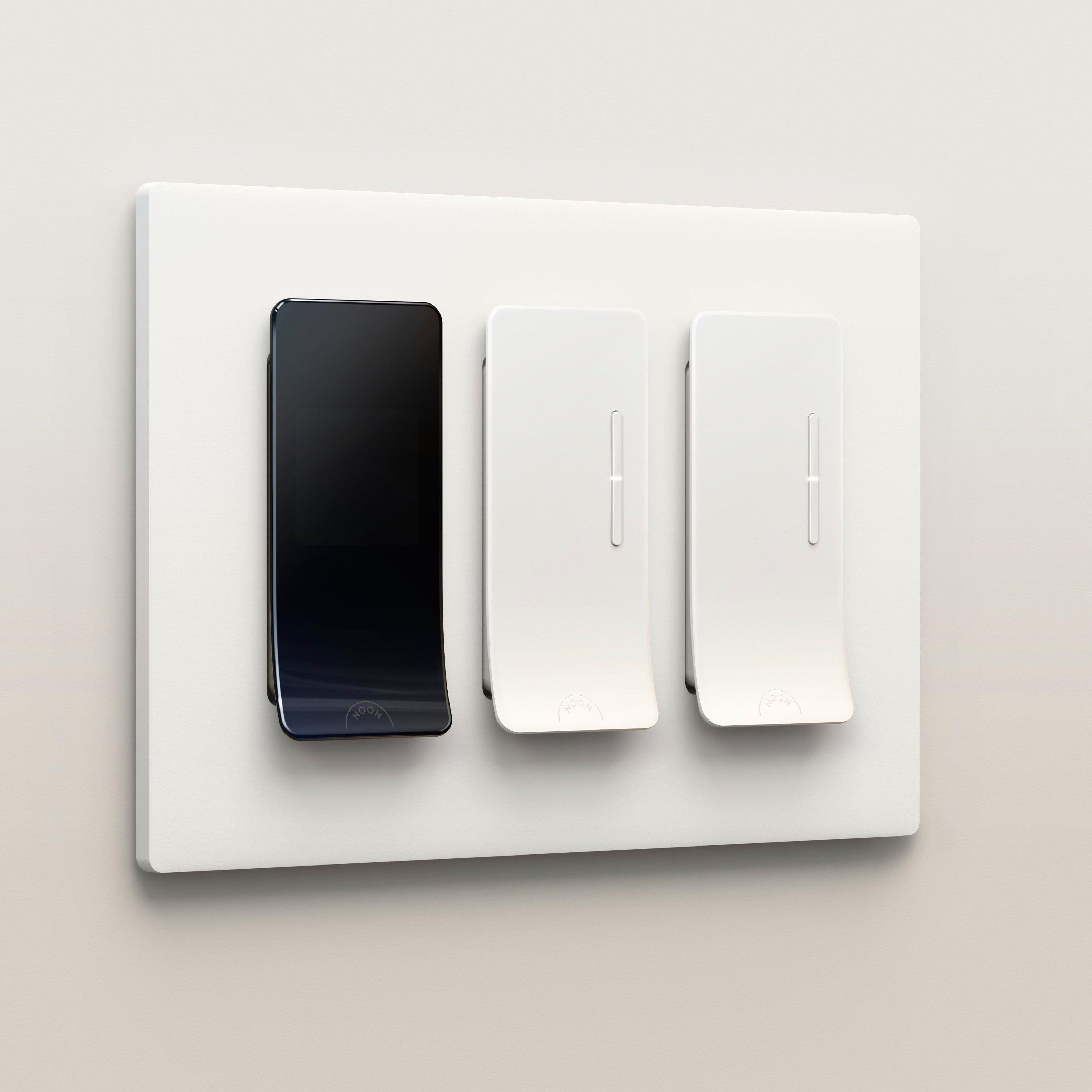 noon smart lighting starter kit black white