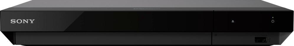 Sony - Streaming 4K Ultra HD Hi-Res Audio Wi-Fi Built-In Blu-Ray Player - Black