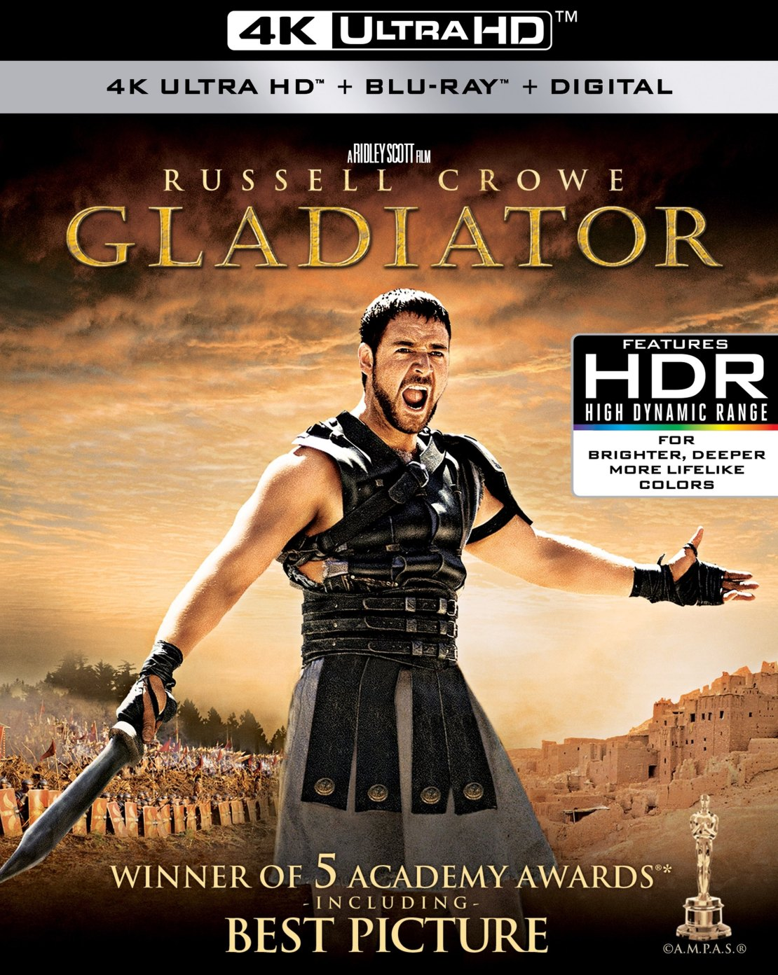 Gladiator [4K Ultra HD Blu-ray/Blu-ray] [2000]