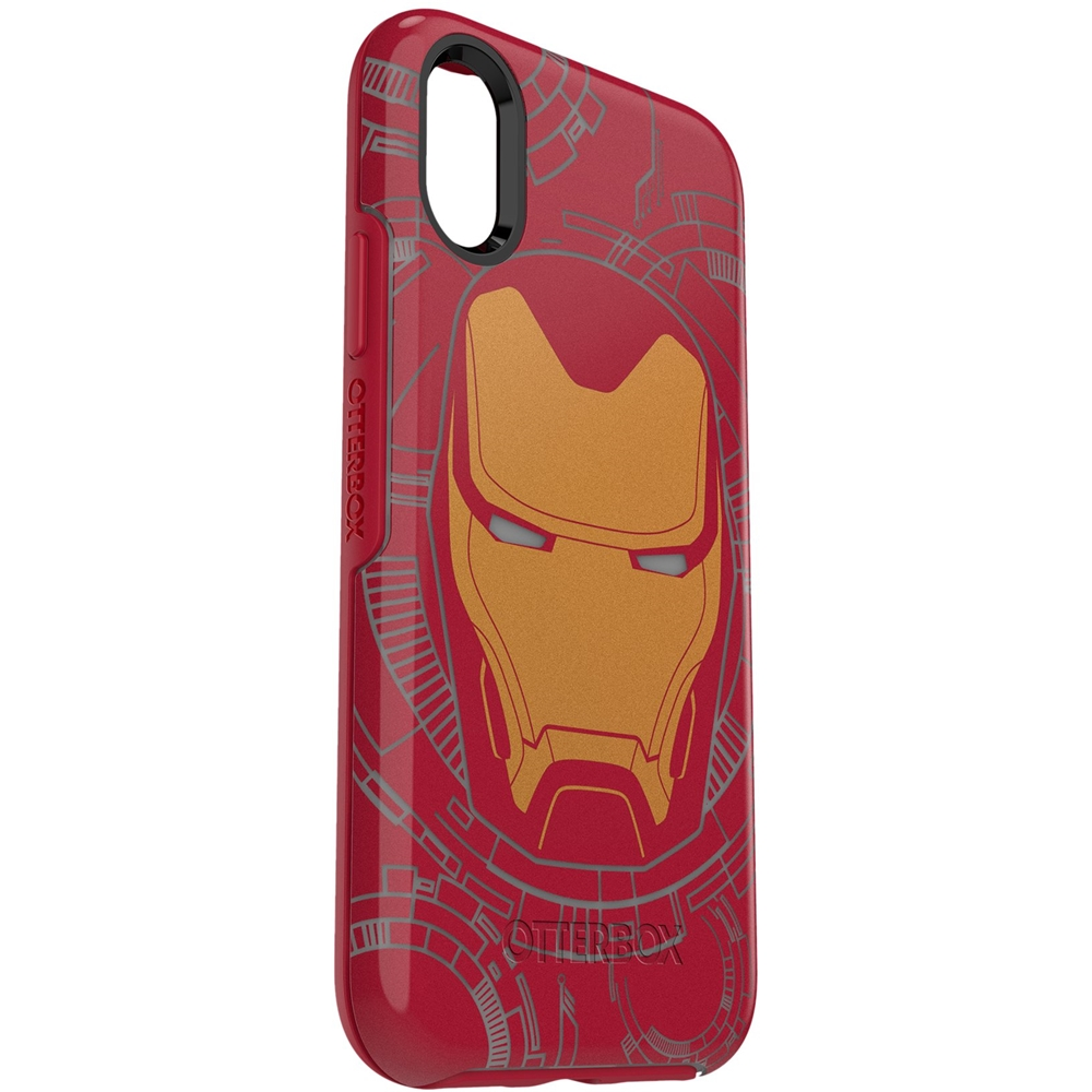 Otterbox Symmetry Series Marvel Avengers Case For Apple Iphone X And Xs I Am Iron Man 50898bbr Best Buy