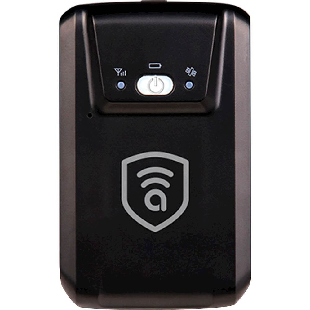 Amber Connect Wireless GPS Vehicle Tracker Black 857734007023 Best Buy