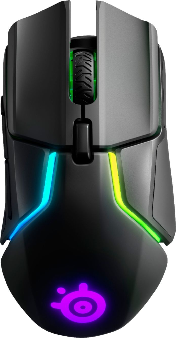 Steelseries Rival 650 Wireless Optical Gaming Mouse With Rgb Lighting Black 62456 Best Buy