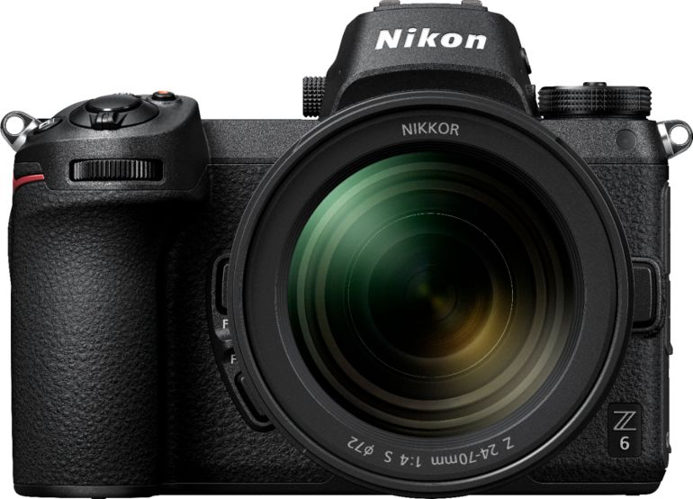Nikon - Z6 Mirrorless Camera with NIKKOR Z 24-70mm Lens - Black