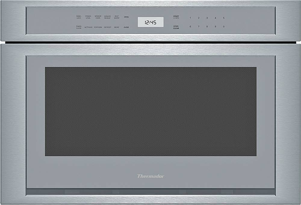 thermador microdrawer 1 2 cu ft built in microwave drawer