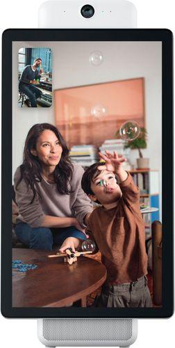 "Facebook - Portal Plus Smart Video Calling 15.6"" Display with Alexa - White"