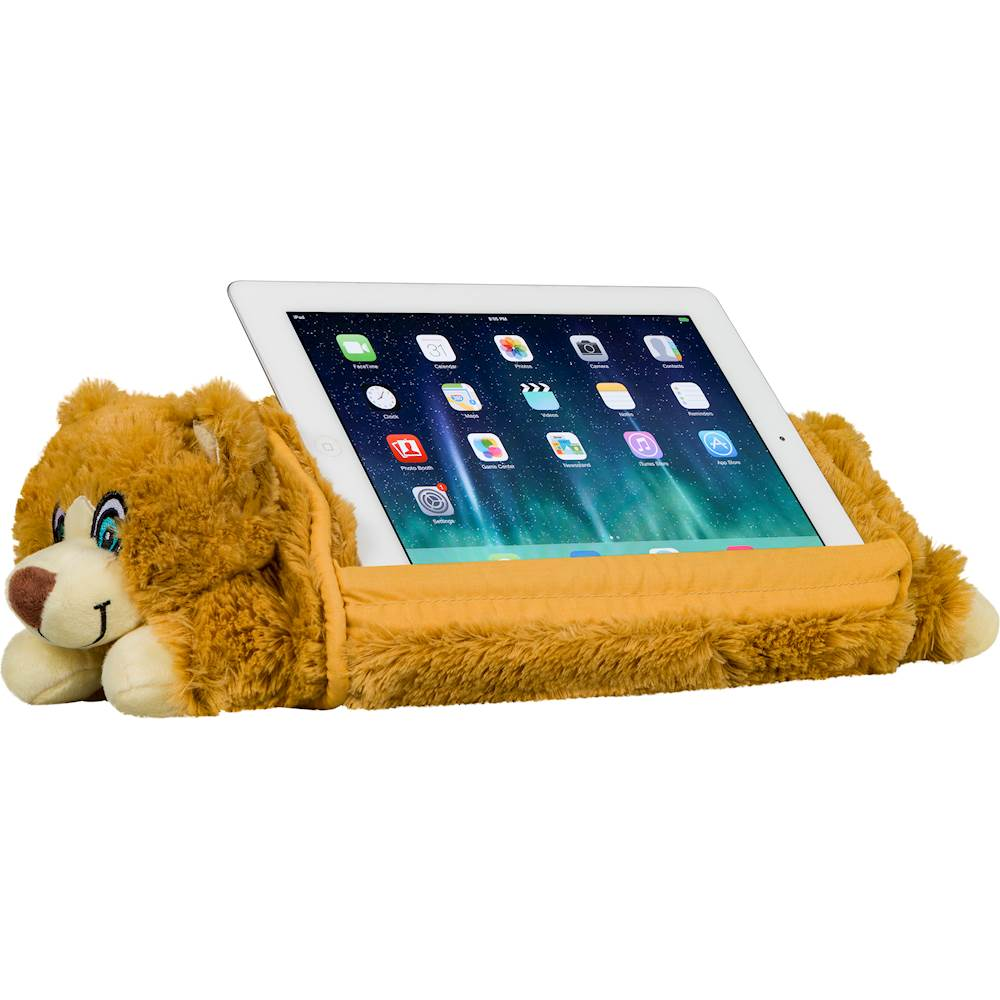 lapgear lap pets bear tablet pillow stand for most tablets up to 10 1 brown