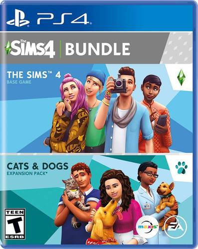 The Sims 4 Plus Cats and Dogs Bundle Standard Edition - PlayStation 4, PlayStation 5