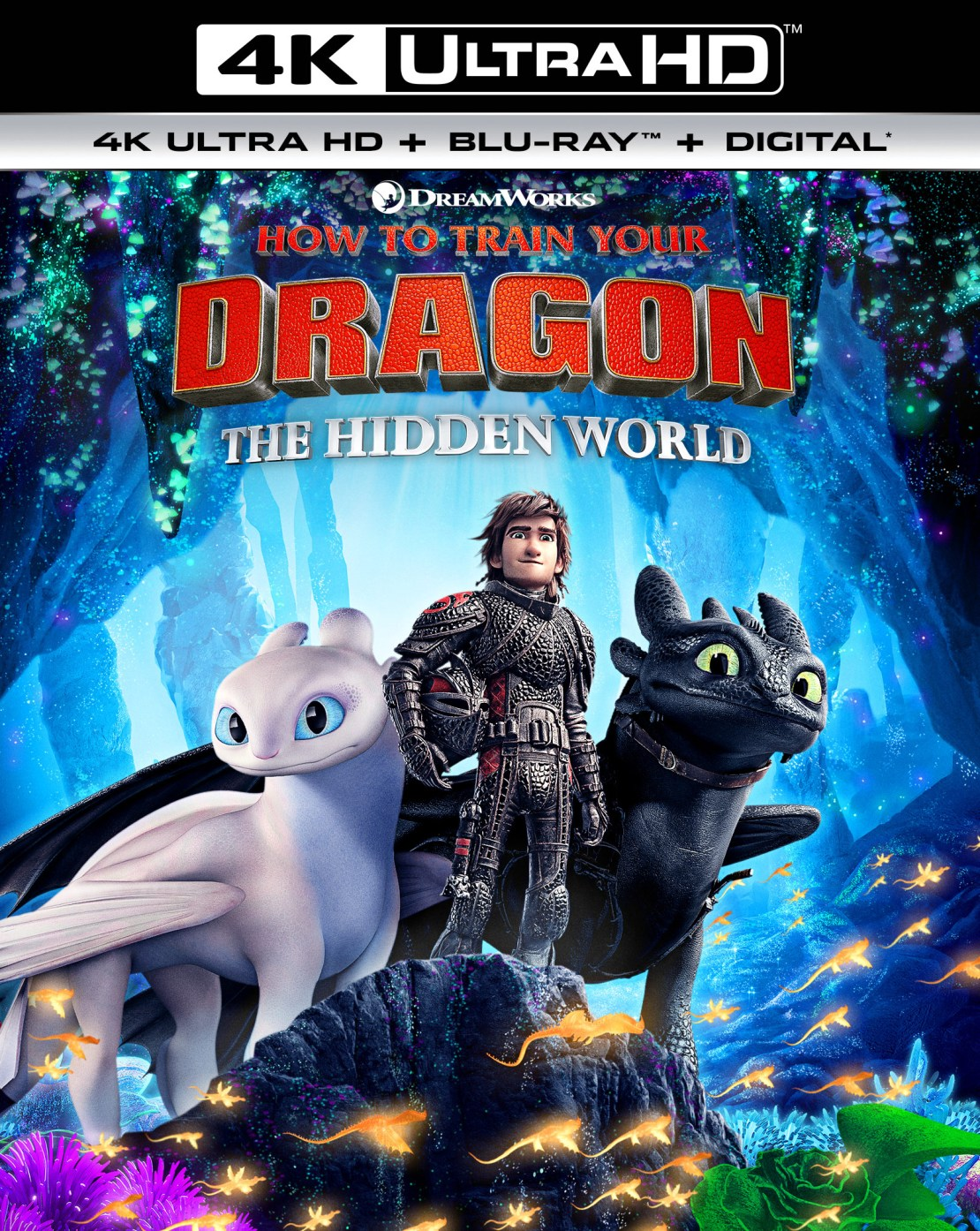 How to Train Your Dragon: The Hidden World [Includes Digital Copy] [4K Ultra HD Blu-ray/Blu-ray] [2019]