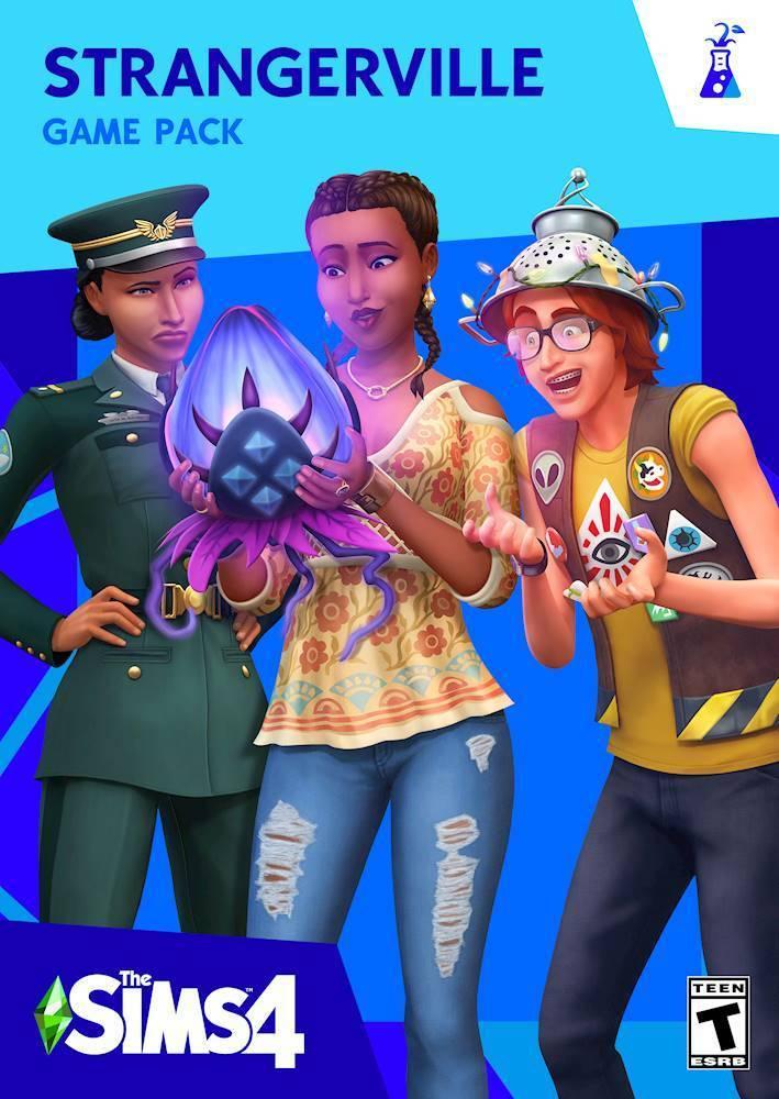 The Sims 4 StrangerVille MacWindows Digital DIGITAL Best Buy