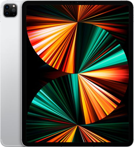 Apple - 12.9-Inch iPad Pro (Latest Model) with Wi-Fi + Cellular - 1TB (Unlocked) - Silver