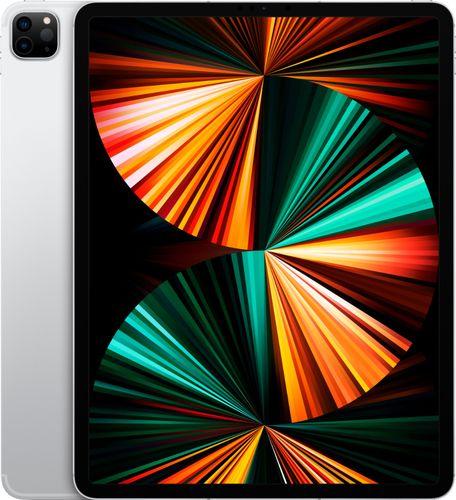 Apple - 12.9-Inch iPad Pro (Latest Model) with Wi-Fi + Cellular - 128GB (Verizon) - Silver