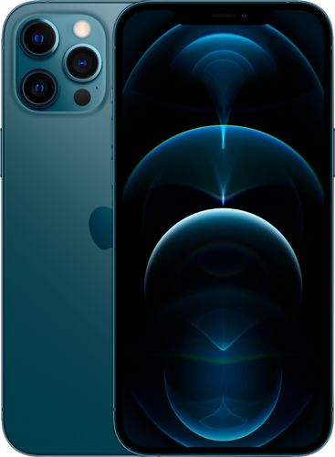 Apple - iPhone 12 Pro Max 5G 512GB - Pacific Blue (Sprint)
