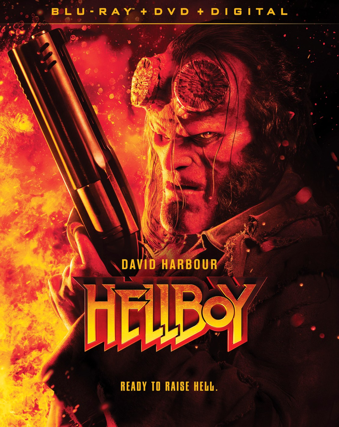 Hellboy [Includes Digital Copy] [Blu-ray/DVD] [2019]