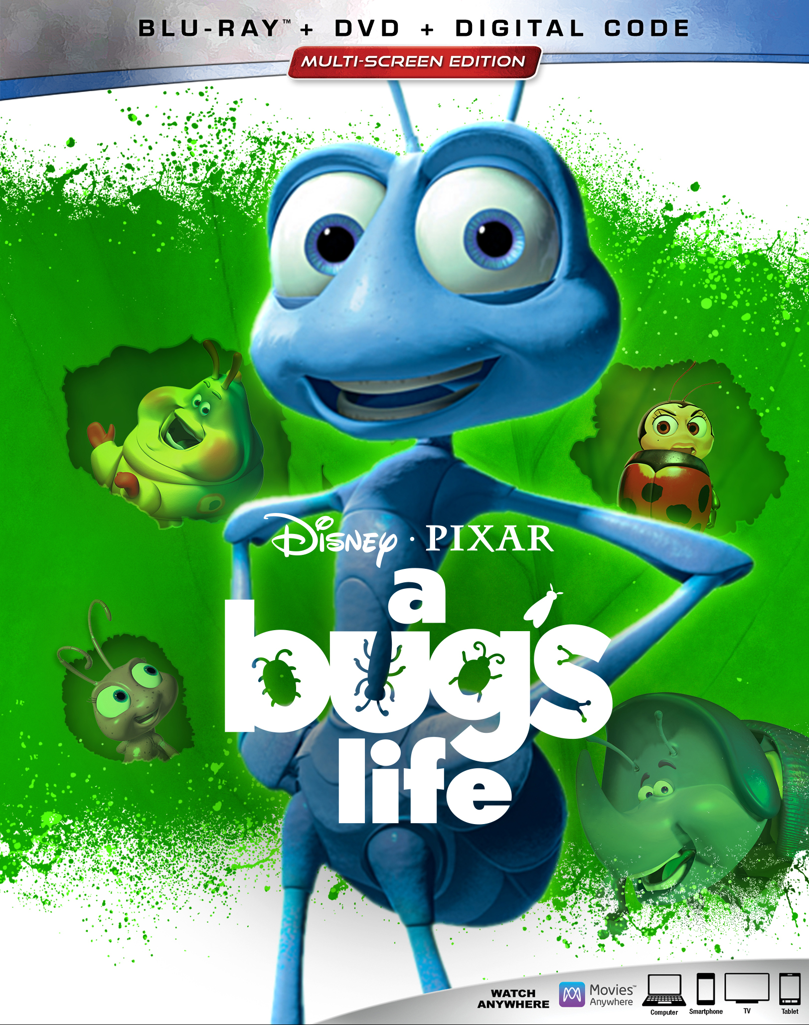 A Bug S Life Includes Digital Copy Blu Ray Dvd