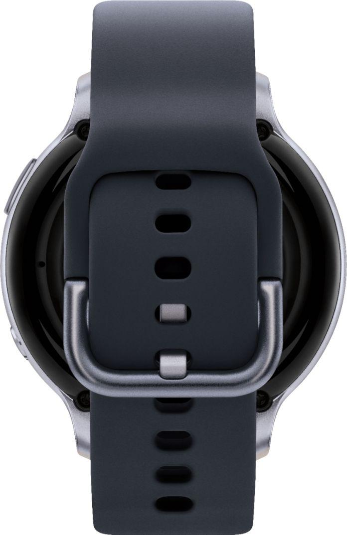 Samsung Galaxy Watch Active2 Smartwatch 44mm Aluminum Aqua Black Sm R820nzkaxar Best Buy