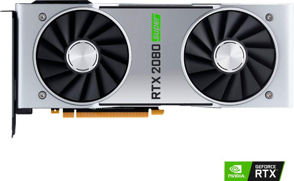 NVIDIA GeForce RTX 2080 Super 8GB GDDR6 PCI Express 3.0 Graphics Card - Black... 812674024004 * BazzarZone