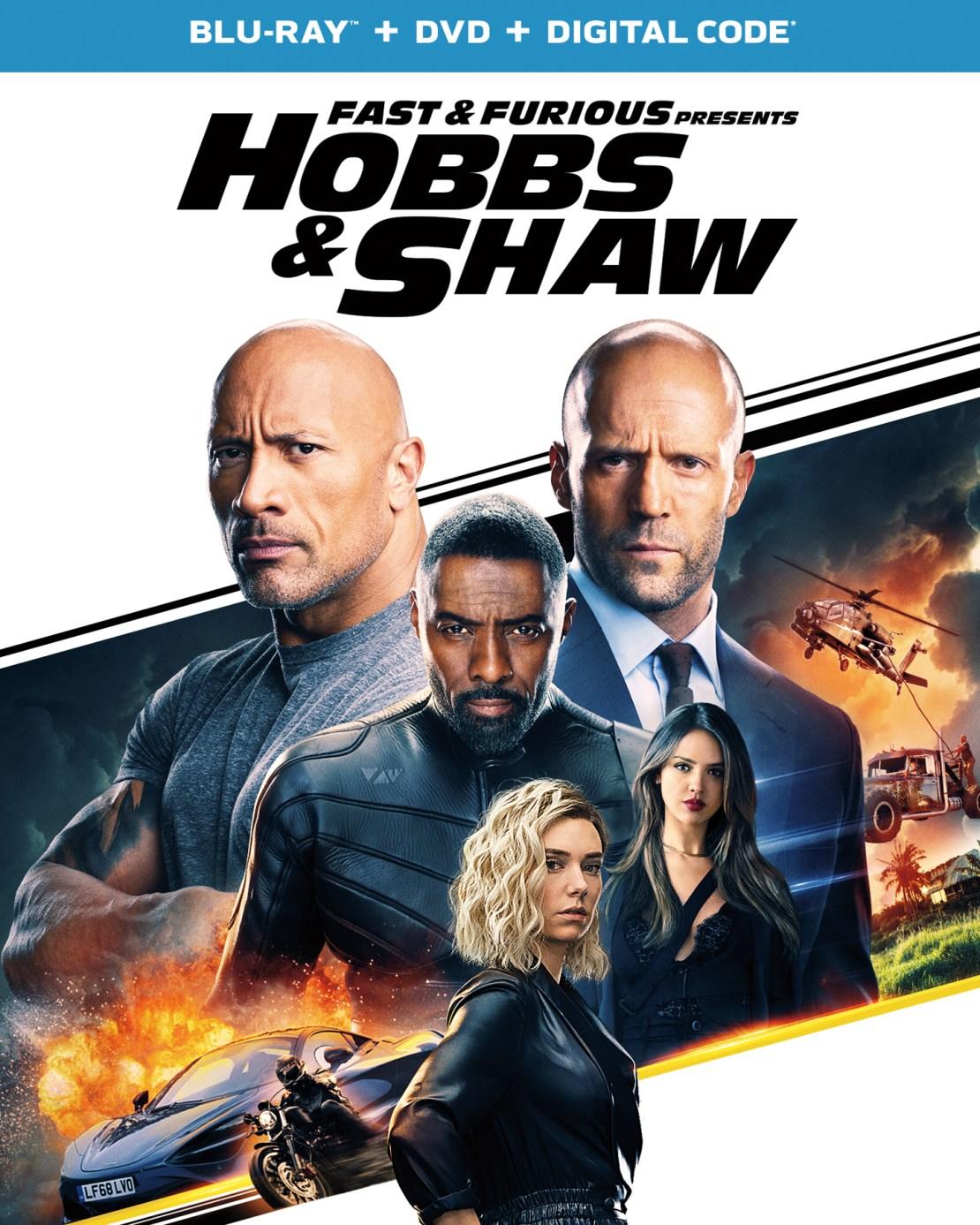 Fast & Furious Presents: Hobbs & Shaw [Includes Digital Copy] [Blu-ray/DVD] [2019]