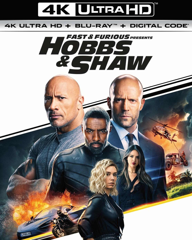 Fast & Furious Presents: Hobbs & Shaw [Includes Digital Copy] [4K Ultra HD Blu-ray/Blu-ray] [2019]