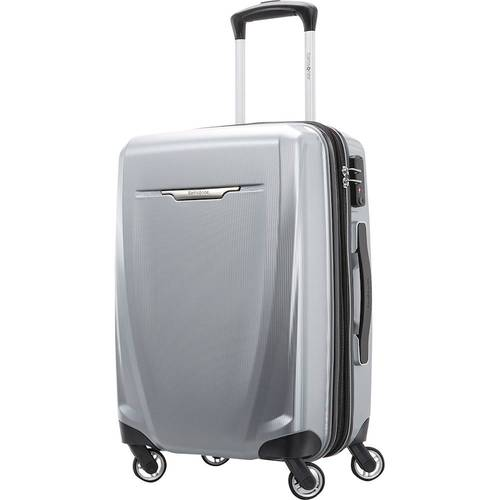 "Samsonite - Winfield 3 DLX 23"" Spinner - Silver"