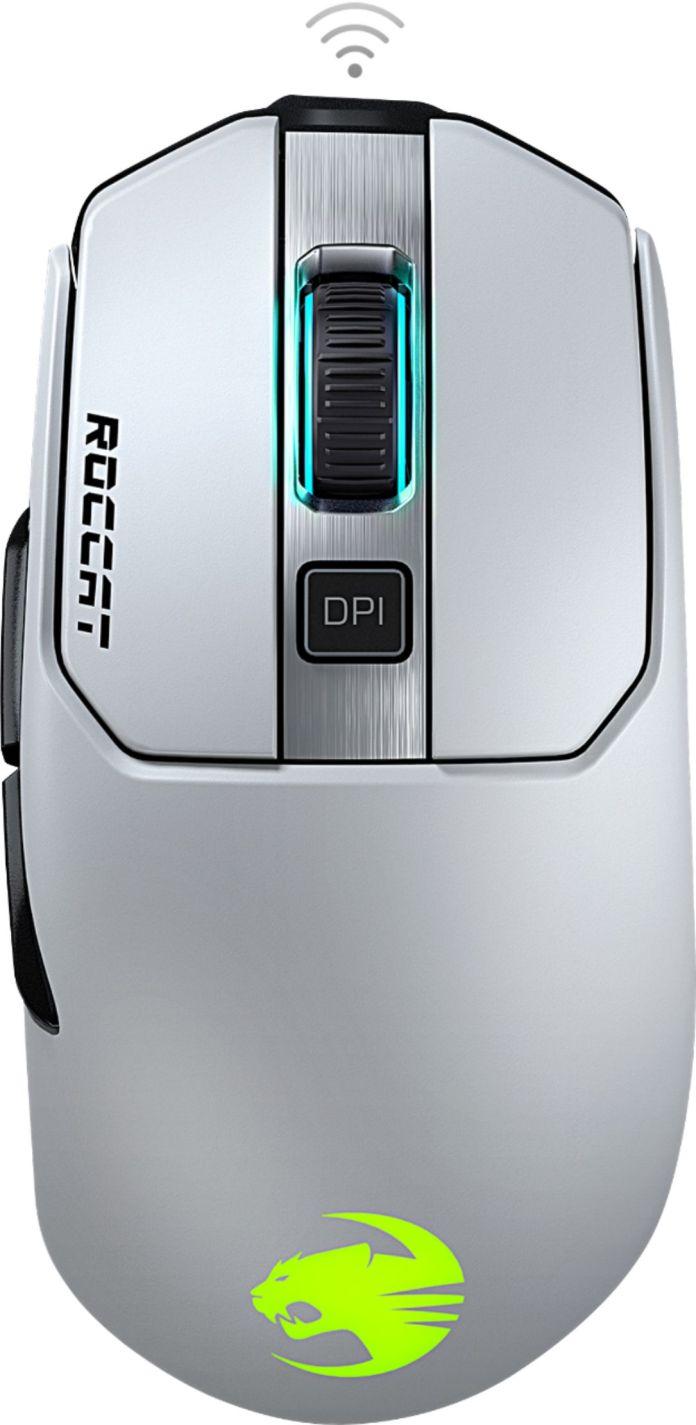 Roccat Kain 202 Aimo Wireless Rgb 105 Gram 16k Dpi Owl Eye Sensor Gaming Mouse With Titan Click White Roc 11 615 We Best Buy