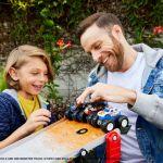 Hot Wheels Monster Trucks Downhill Race Go Play Set Gfr15 Best Buy