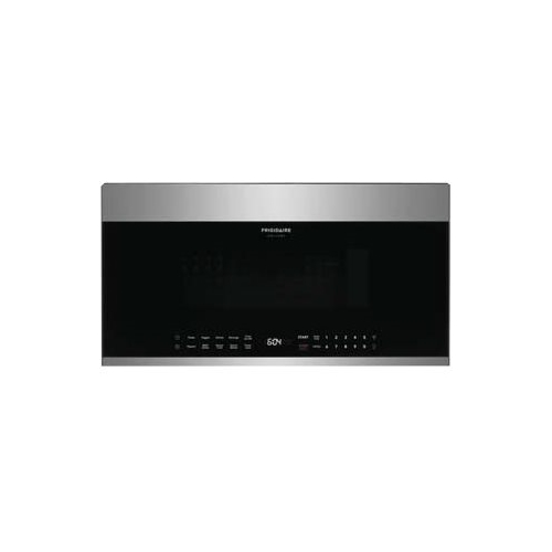 frigidaire gallery series 1 9 cu ft over the range microwave with sensor cooking stainless steel