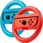 Rocketfish Joy Con Racing Wheel Two Pack For Nintendo Switch Red Blue Rf Nsjcw2 Best Buy