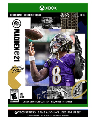 Madden NFL 21 Deluxe Edition - Xbox One, Xbox Series S, Xbox Series X