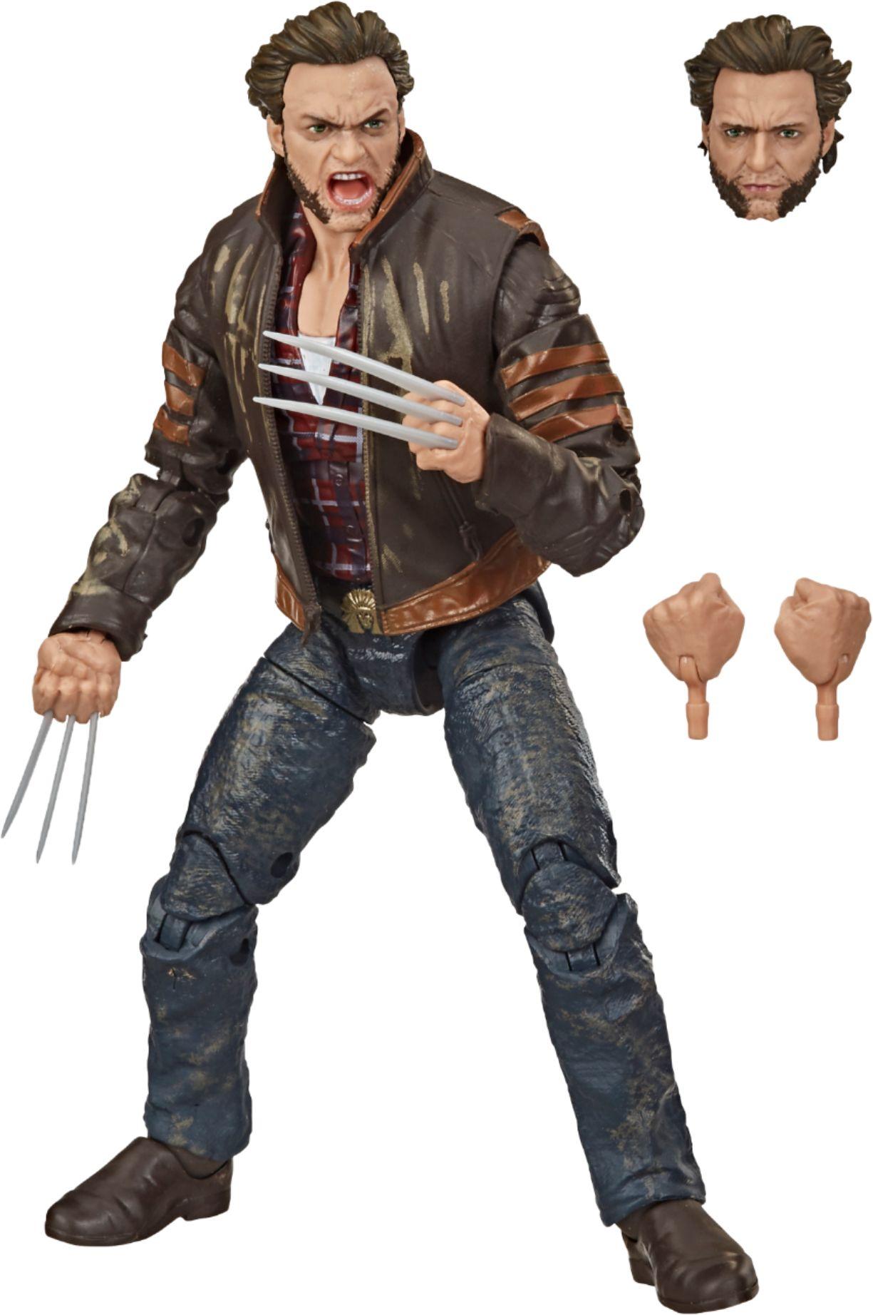 Hasbro Marvel Legends Series Wolverine Action Figure E9283 Best Buy