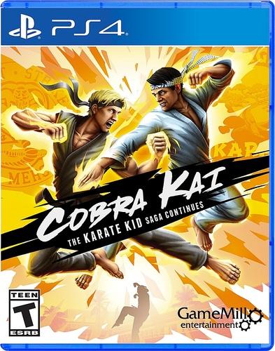 Cobra Kai The Karate Kid Saga Continues - PlayStation 4, PlayStation 5