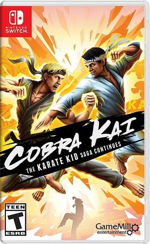 Cobra Kai The Karate Kid Saga Continues - Nintendo Switch