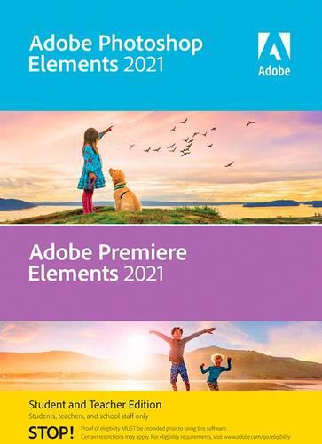 Adobe - Photoshop Elements & Premier Elements 2021 - Student & Teacher Edition