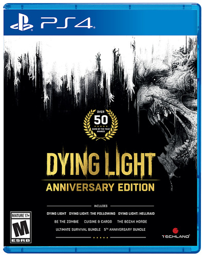 Dying Light Anniversary Edition - PlayStation 4, PlayStation 5