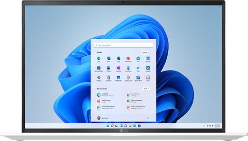 "LG - gram 14"" WUXGA Laptop – Intel Evo Platform Core i5 – 8GB RAM – 256GB NVMe Solid State Drive - White"