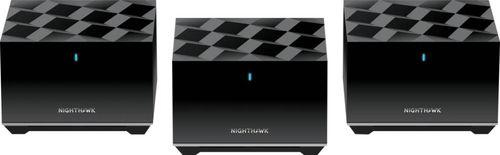 NETGEAR - Nighthawk AX3600 Tri-Band WiFi 6 Mesh System (3-Pack)