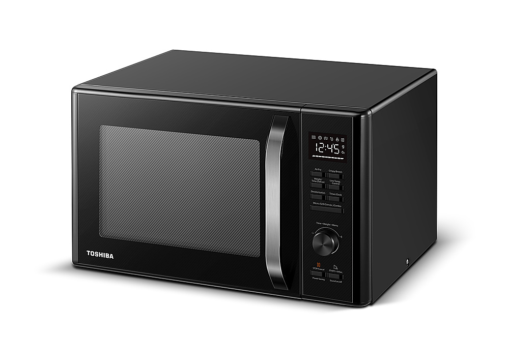 toshiba 1 0 cu ft convection multifunction microwave with sensor cooking