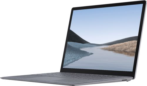 """Microsoft - Geek Squad Certified Refurbished Surface Laptop 3 - 13.5"""" Touch-Screen Laptop - Intel Core i5 - 8GB Memory - 128GB SSD - Platinum"""