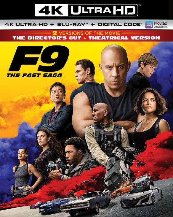 F9: The Fast Saga [Includes Digital Copy] [4K Ultra HD Blu-ray/Blu-ray] [2021]