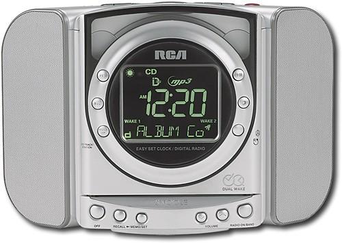 Best Rca Cd Dual Alarm Clock Radio
