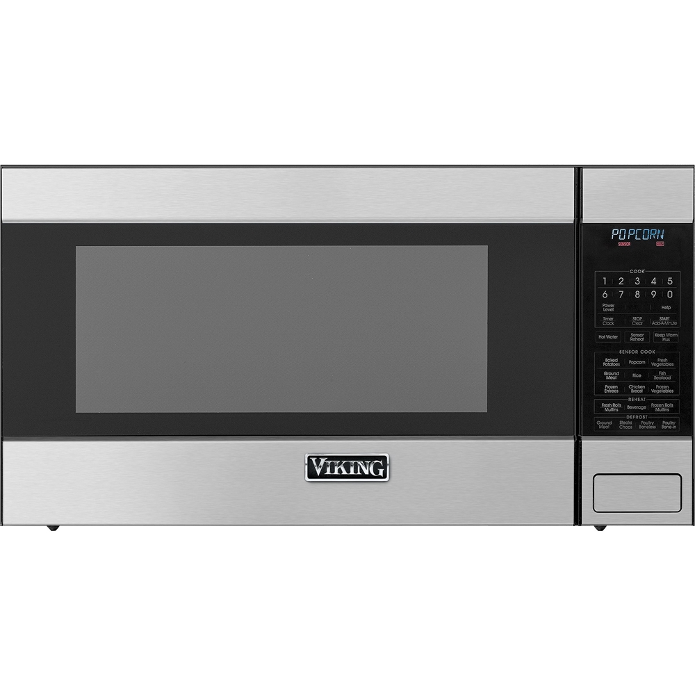 viking 2 0 cu ft family size microwave stainless steel