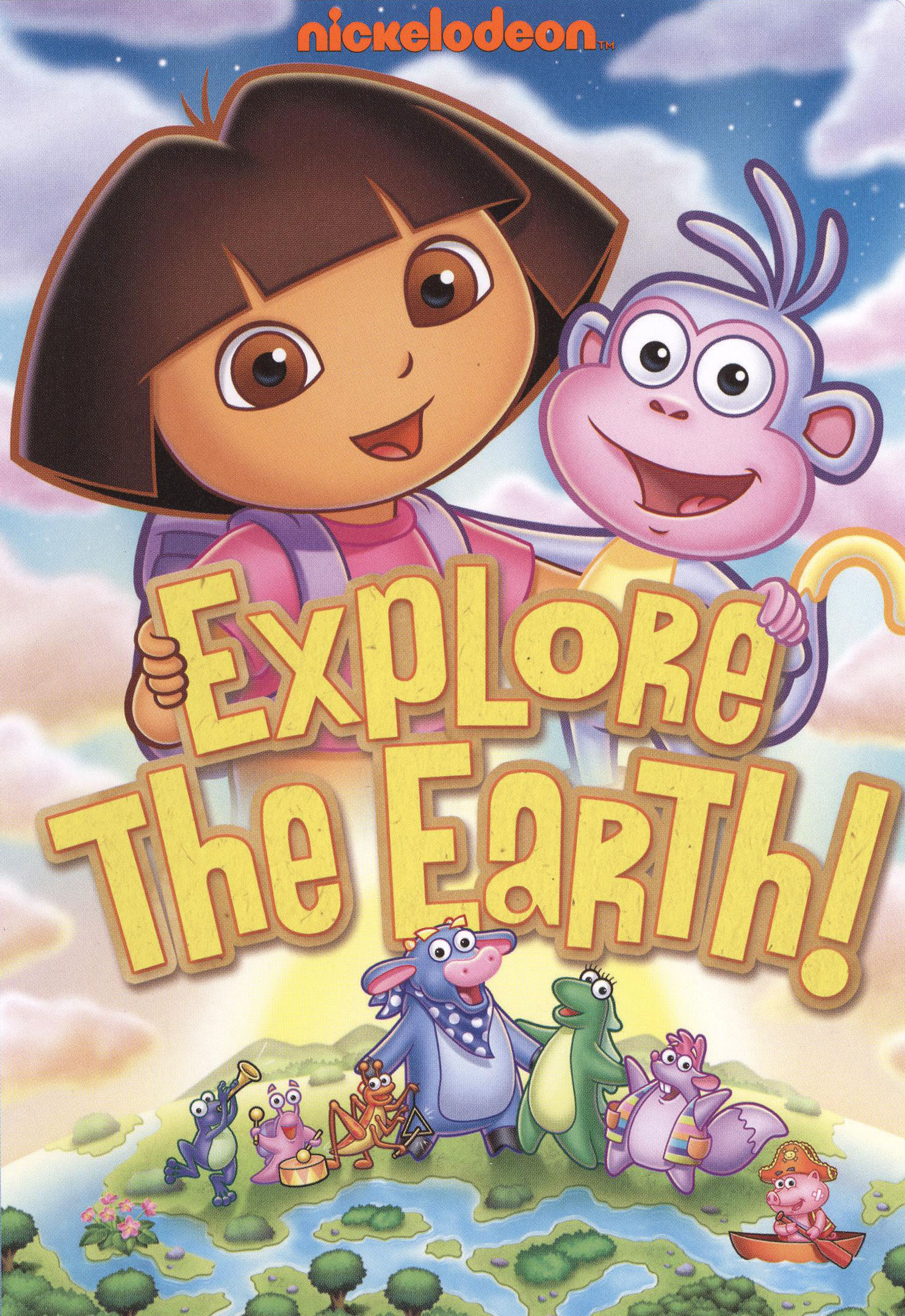 Dora The Explorer Explore The Earth Dvd