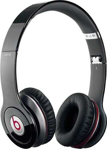 Beats by Dr. Dre - Beats Solo HD On-Ear Headphones - Black - Angle