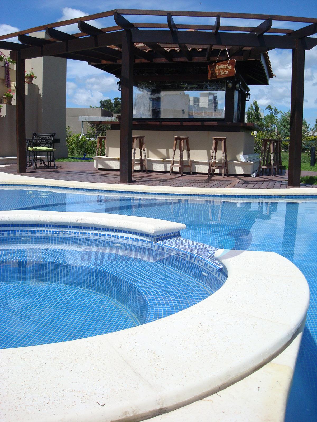 Bordes para piscinas borde para piscina de hormign for Piletas enterradas precios