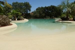 ventajas piscinas de arena
