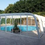 L'abri haut aquadiscount pour protéger et sécuriser votre piscine