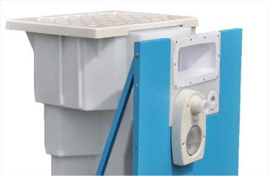 Bloc de filtration Aquadiscount sur-équipée et breveté