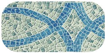 Frise de piscine lisboa gris