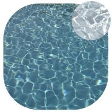 Liner imprimé piscine Marbre gris