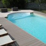 Escalier roman 3,00m pour piscine Aquadiscount